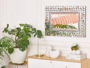 Wandspiegel silber 60 x 90