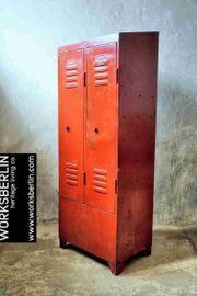 Besonderer vintage Metallschrank Spind - worksberlin