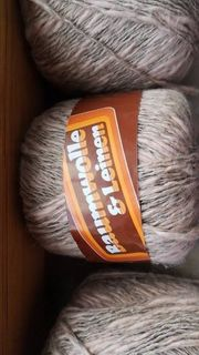 Wolle Baumwolle Leinen
