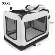Faltbare Hundetransportbox GR XXXL in