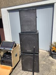 Dynacord P5 Lautsprecher PA mit