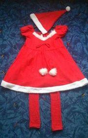 Weihnachtskostüm Frau Nikolaus oder Mrs