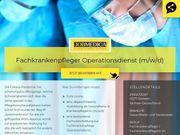 Fachkrankenpfleger Operationsdienst m w x