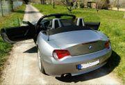 BMW Z 4 Cabrio silber