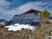Solaranlage Kollektor zu verschenken