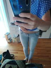 Hellgraue Jeans Größe 36