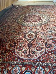 60er Jahre Orientteppich handgeknüpft 190x120