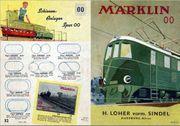 Märklin Kataloge aus den 1930er