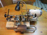 Drehmaschine Uhrmacher Flume Boley Drehbank