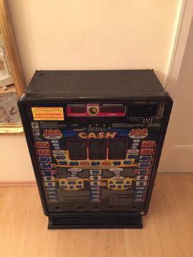 Spiele, Automaten - Geldspielautomat - Leergehäuse Euro Cash ideal