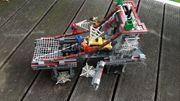 Lego Spiderman Brücke mit Zubehör