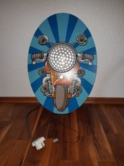 Kinderdekolampe - Design Motorrad