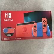 Nintendo Switch Mario Edition rot