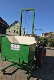 Hydraulischer Traubenheber Transporter