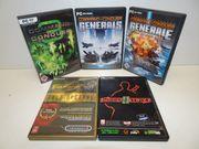 Video Spiele Konvolut für PC