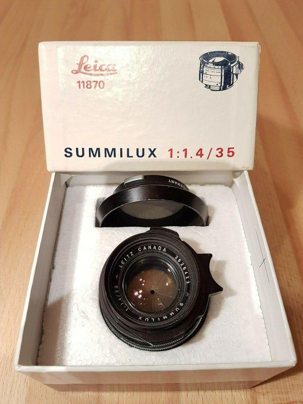Leica Leitz Canada Summilux 11, 4 35 mm