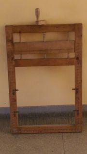 Knüpf-Rahmen Echt-Holz Aussenmaß Breite 51