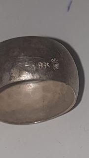 sehr alter ring aus dem