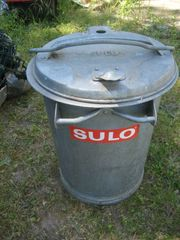 verzinkte Mülltonne SULO Mülleimer 35
