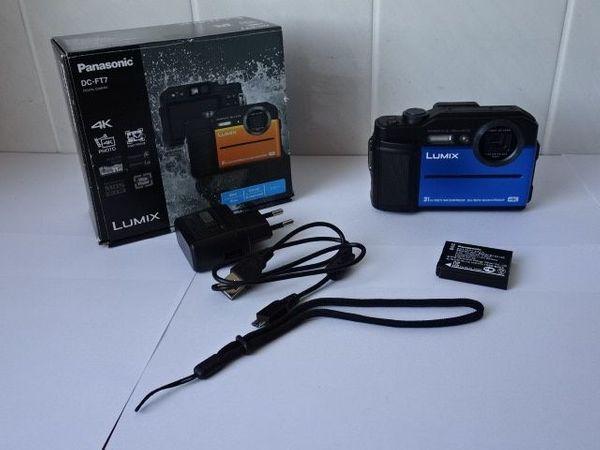 Neu Foto-Videokamera Panasonic DC- FT7 in original Verpackung mit neu Firmware v. 1. 3