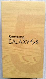 Samsung Galaxy S5 Verpackung mit