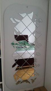 Spiegel in weiß - sehr guter