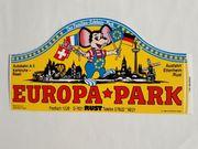 Europapark-Parkticket 1984 sehr guter Zustand