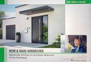 Vordach Wetterschutzelemente für den Hauseingangsbereich