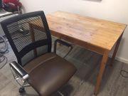 Schreibtisch Massivholz kostenlos abzugeben
