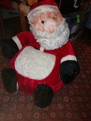 schöner Weihnachtsmann Kindersitz innen ist