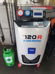 Klimaservice Wartung Klimaanlagen befüllung R134a