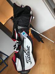 Titleist Golfbag inkl Starterset Eisenschläger-Set