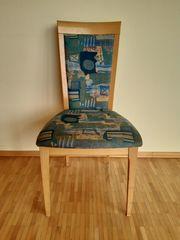 Vier schöne Stühle fürs Esszimmer