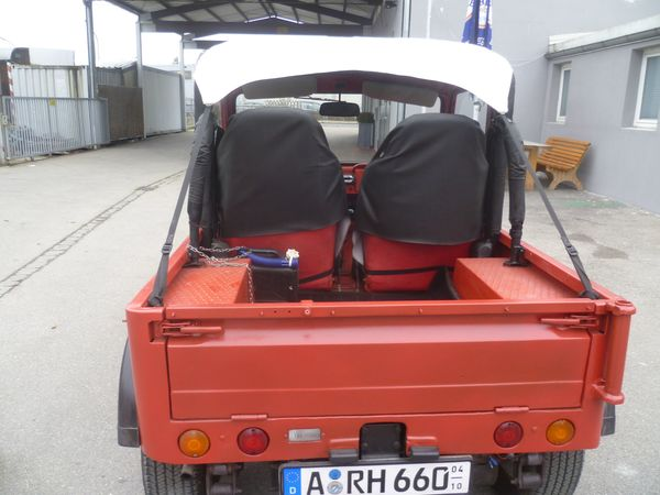 Suzuki LJ 80 Cabrio Jeep