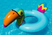 Aufblasbarer Schwimmreifen Tukan Style 90