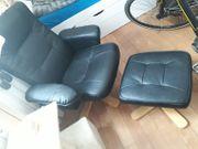 TV Sessel mit Hocker