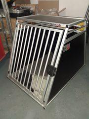 Hundebox - Einzelbox inkl Hunderampe Einstiegshilfe