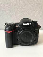 Nikon D7000 mit Zubehör