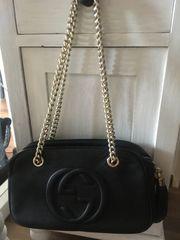 Gucci soho Bag schwarz Kettenhenkel