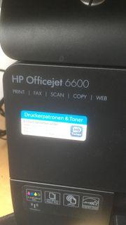 HP Officejet 6600 - Fehlermeldung Druckkopf