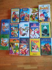 Kinder VHS Videos verschiedene gratis