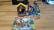 Lego Friends Abenteuercamp Baumhaus komplett