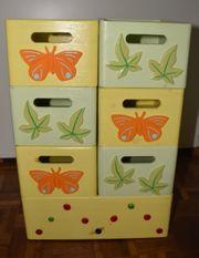 7x Bütic Allzweckkiste Holzbox Holzkiste