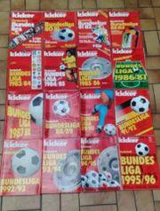 Sonderhefte Bundesliga 1979 80 bis