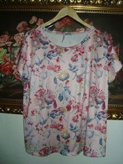 Vintage Shirt im Blütenprint Gr