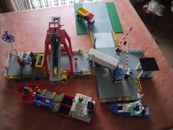 Lego Launch Load Seaport 6542