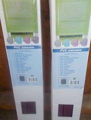 2 x PVC Jalousie Breite
