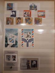Briefmarken Bund BRD Jahr 1991