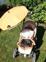 Sonnenschirm Kinderwagen Teutonia Mistral 06