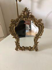 Gold schwer Tisch Spiegel Chippendale